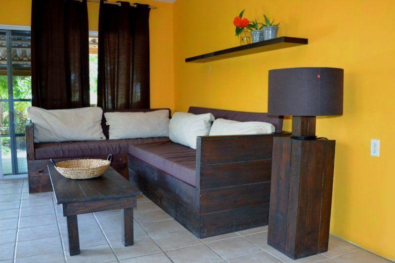 Living Room Garden Bungalow Curacao