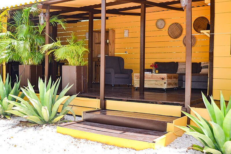 Garden Apartment - Jan Kok Lodges Curacao
